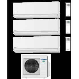 CLIMATIZZATORE PANASONIC TRIAL R32 ETHEREA Z WI-FI 7+7+18 BTU CU-3Z68TBE A+++/A++ 2021